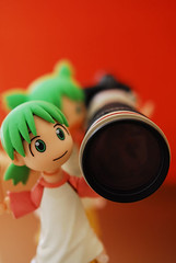 TWO helping ONE to carry her new toy - DSC_5071 (~Nisa) Tags: camera two toy one singapore asia yotsuba revoltech