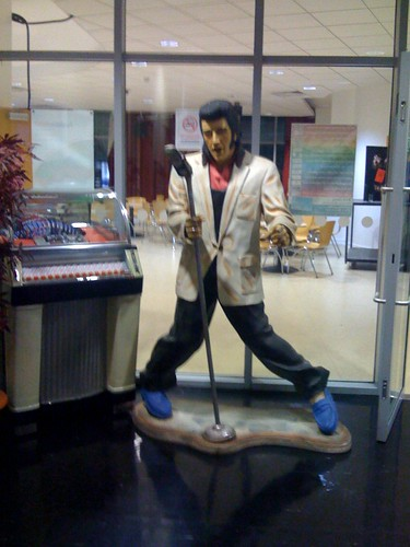 Sparky's Elvis at South Birmingham College
