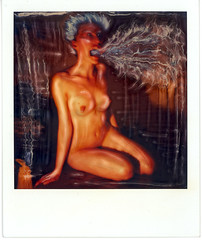 -- (chrystoof) Tags: portrait nude polaroid sx70 timezero