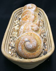 Whole Wheat Snake (Peter Arthold) Tags: bread baker snake dough flour brot wholewheat breadrolls basked