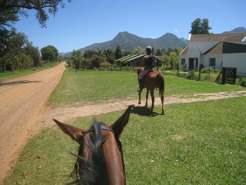 Riding Gracie in Storms River, South Africa
