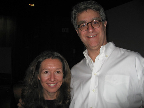 Maureen Furniss and Fred Seibert