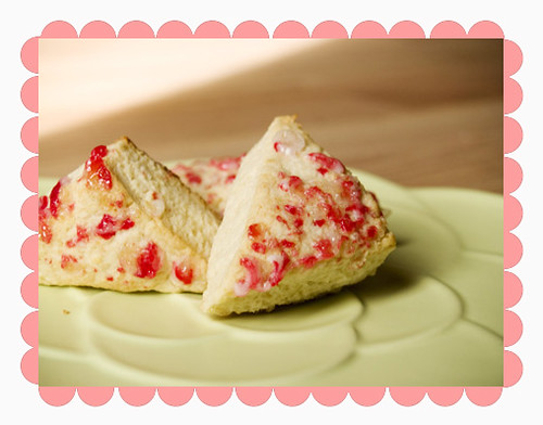 Peppermint Scones recipe