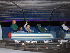 Space Mountain (Joe Shlabotnik) Tags: orlando florida disney waltdisneyworld tomorrowland 2008 magickingdom spacemountain faved november2008