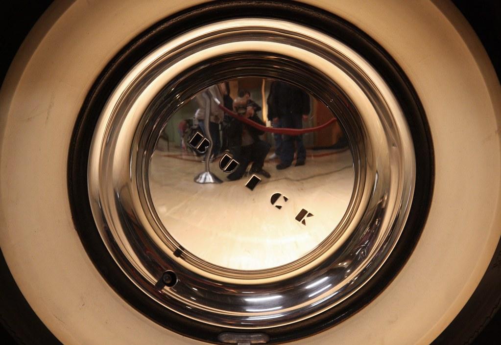 NMAH 1950 Buick Wheel