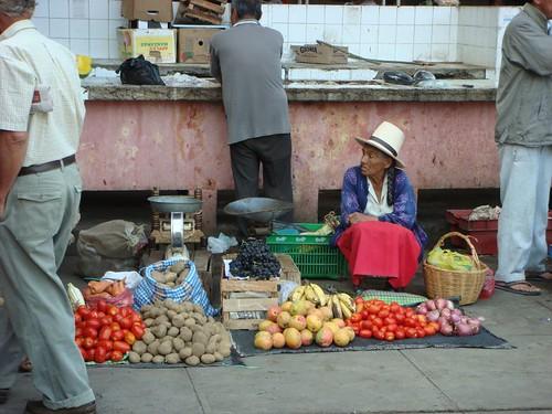Market in Casma.