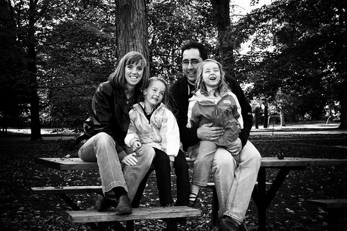Robyn, Rachel, Peter & Tessa
