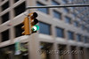 Stoplight with motion blur
