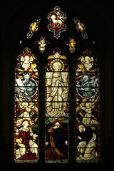 East window All Saints - Swinford
