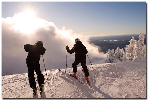 El esquí y sus pistas