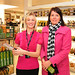 Hollie McNarry + Brenda Kearns attend the opening of the first Next home store at the Holywood Exchange.