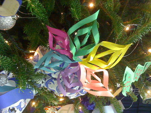 Handmade Construction Paper Ornaments