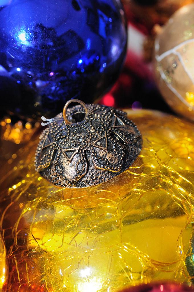 Golden Vintage Ornament