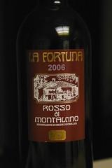 2006 La Fortuna Rosso di Montalcino