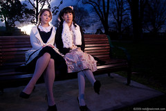 Siera and Annie (neilcreek) Tags: portrait people portraits costume shoot cosplay meet
