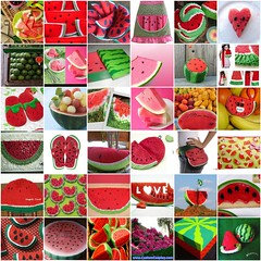 Meus Favoritos - Melancia (My Favorites - Watermelon) (Arte Shi Chic) Tags: fdsflickrtoys