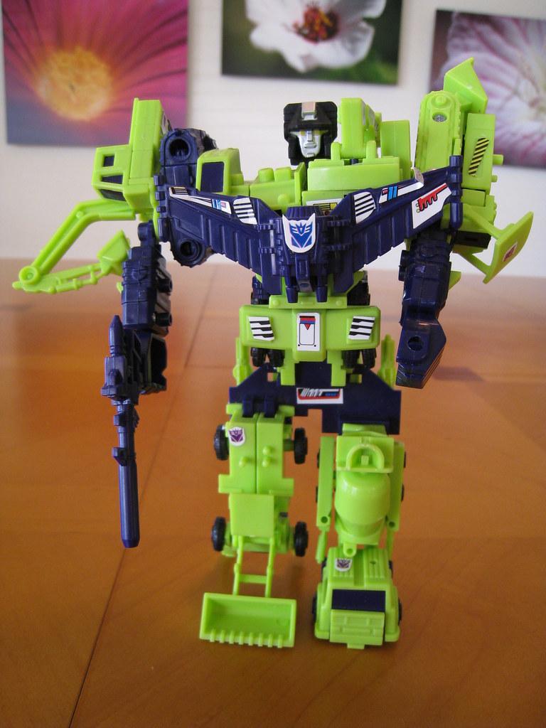 """Worlds Smallest Transformers"" Devastator - Combined mode"