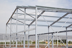 Commercial Greenhouse Frame Design