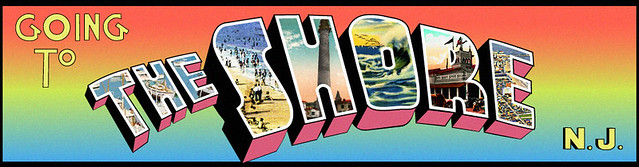 "Michael Campitelli's header for ""Going to THE SHORE N.J."" created by digi"