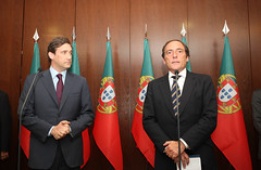 Pedro Passos Coelho e Paulo Portas assinam Acordo Político