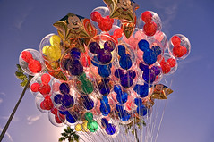 52 Mickey Balloons (Explored) (Express Monorail) Tags: travel pink blue red vacation usa sunlight green colors yellow america balloons mouse interestingness orlando nikon purple florida availablelight illuminations vivid wideangle disney mickey lookingup theme below minnie underneath orangecounty wdw waltdisneyworld beneath kissimmee themepark d300 lakebuenavista baylake flickrexplore reedycreek explored disneypictures disneyparks expressmonorail disneyphotos joepenniston disneyphotography disneyimages tamron18270mm