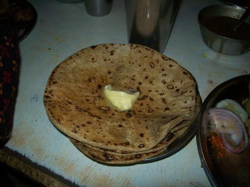 paratha platter