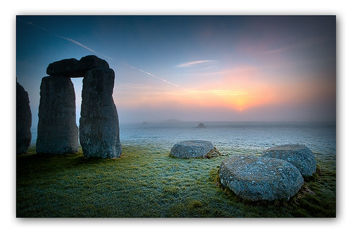 Sunrise at Stonehenge (III) Colour