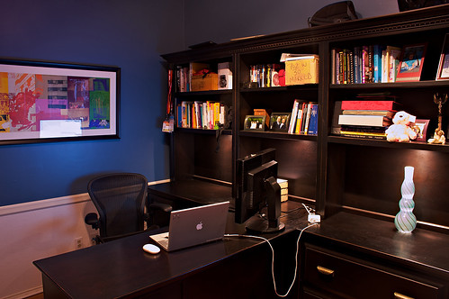 My office, March 2008