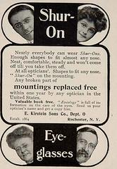 Shur On ad c 1910's rl fp pz (pince_nez2008) Tags: nose glasses eyeglasses eyewear eyeglass rimless pincenez noseclip rimlessglasses vintageeyewear vintageeyeglasses rimlesseyeglasses eyeglassesad pincenezad noseeyeglasses antiqueeyeglass vintageeyeglass