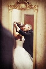 .passion. (~Kena Bree~) Tags: wedding groom bride kiss married weddingday inlove