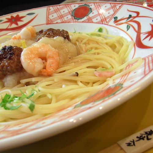 Japanese style pasta