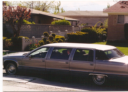 The funeral home limo
