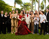 gold bridesmaid style gold groomsmen style wedding photo