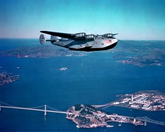 China Clipper, Circa 1940 (Telstar Logistics) Tags: sanfrancisco am treasureisland 314 pan boeing airlines panamerican chinaclipper