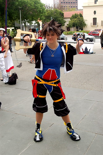 Outside Fanimecon 2008: Sora