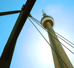 Towering (marty_pinker) Tags: toronto ontario cntower skydome may2008