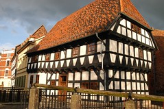 Quedlinburg has about 1200 old half-timbered houses. Some of them are more than 600 years old.