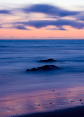 Mysterious Sea (Jeffrey Sullivan) Tags: ocean california sunset usa seascape beach misty ball point landscape coast rocks long exposure waves pacific colorfull north arena pacificocean bowling northern hdr northerncaliforniacoastpacificoceanbowlingballbeachsunse