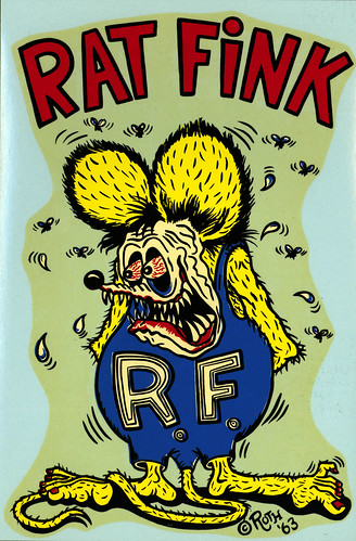 rat fink color