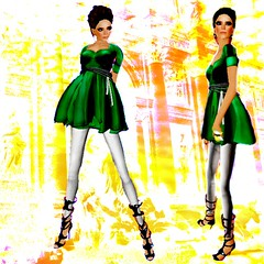 Gladiatrix! (Channen GossipGirl) Tags: modeling sl secondlife bohobabe channengossipgirl