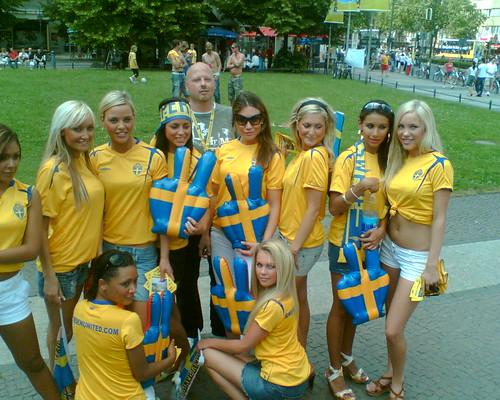 swedish supporter
