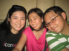 Abbie, Charo and Jako at Cafe Leona