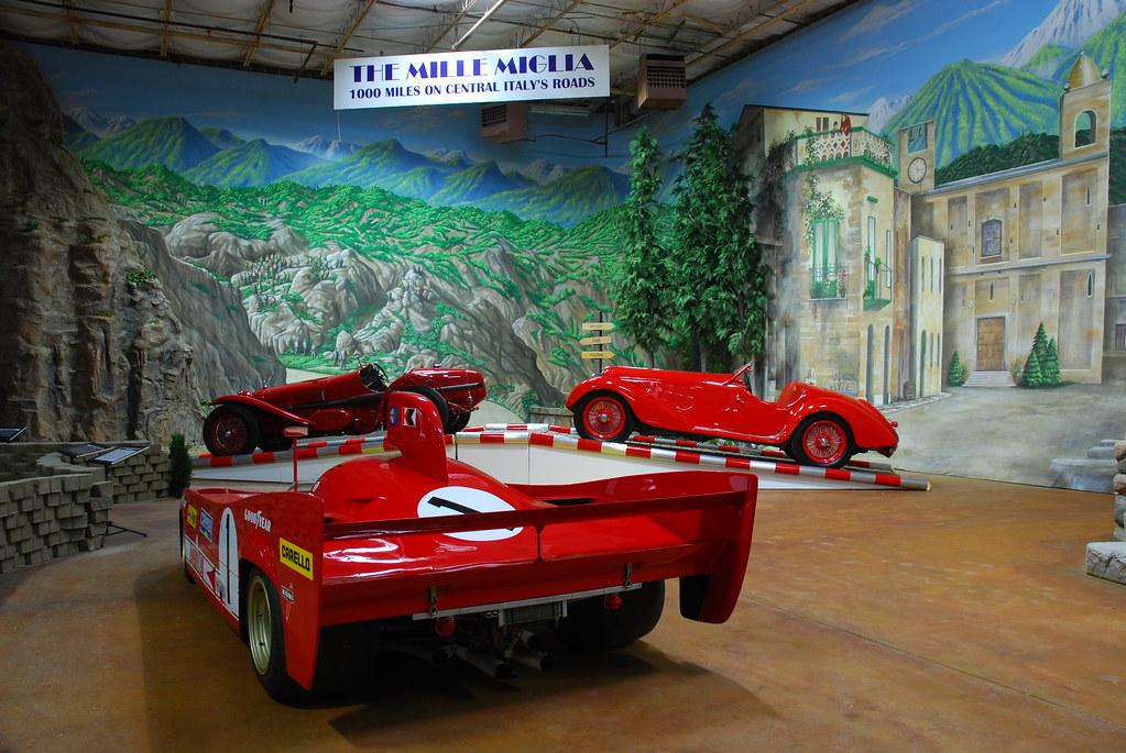 1975 Alfa Romeo 33 TT 12, 1933 Monza, 1937 8C2900A