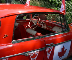 Happy Canada Day! (troutwerks) Tags: studebaker ambleside ocanada 1963 westvan canadaday2008 141yearsold