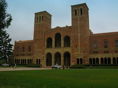 UCLA (youneverknowphotography) Tags: sky green castle students grass truck university ucla gigantic