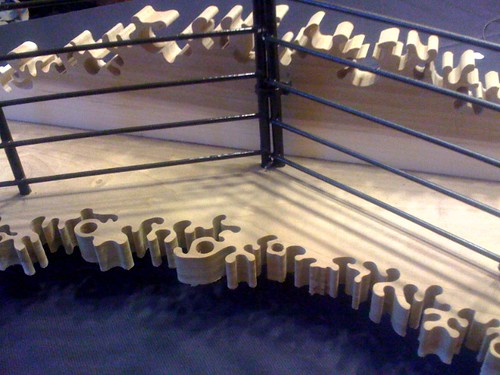 wood metal display handmade earring jewelry rack scrollsaw