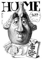 HUME, David (Morales de los Ros) Tags: writers caricaturas philosophers caricatures escritores filsofos