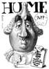 HUME, David (Morales de los Ríos) Tags: writers caricaturas philosophers caricatures escritores filósofos