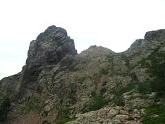 Le Pinzu Scaffone et ses brèches versant Scaffone