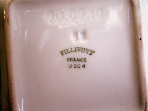 Parisian Souvenir, Pillivuyt Porcelain Dish/Ashtray